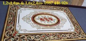 2020-10-30 14:05:22  7  Thảm gạch hoa văn vàng HP6899 2,690,000
