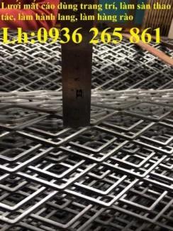 2020-10-30 14:25:20  8  Lưới thép dập giãn làm cầu thang, lan can, hành lang, sàn thao tác giá rẻ 20,000
