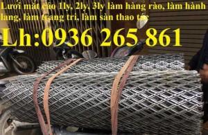 2020-10-30 14:25:20  7  Lưới thép dập giãn làm cầu thang, lan can, hành lang, sàn thao tác giá rẻ 20,000