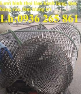 2020-10-30 15:00:49  7  Lưới trám làm hành lang, hàng rào bảo vệ, lan can, bậc thềm, giàn không gian, sàn thao tác, vách ngăn 24,000