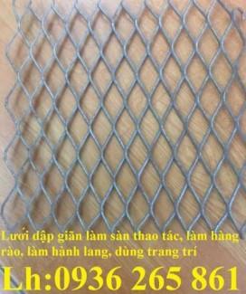 2020-10-30 15:00:49  10  Lưới trám làm hành lang, hàng rào bảo vệ, lan can, bậc thềm, giàn không gian, sàn thao tác, vách ngăn 24,000