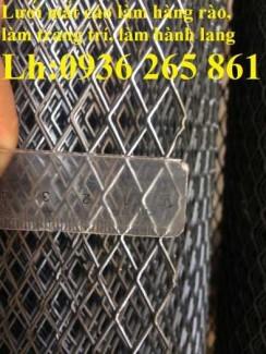 2020-10-30 15:03:04 Lưới dập giãn XG dùng trong xây dựng, trang trí nội thất, làm hành lang, hàng rào giá rẻ 20,000