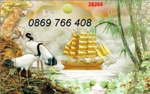 2020-10-30 16:45:52  3  Tranh gạch men-tranh gạch thuận buồm xuôi gió 1,200,000