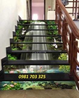 2020-10-30 16:45:49  7  Tranh gạch cầu thang- tranh kính cường lực 1,600,000