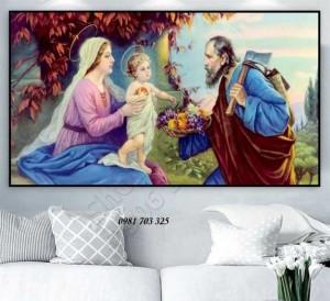 2020-10-30 16:47:10  7  Tranh gach 3D công giáo 1,200,000
