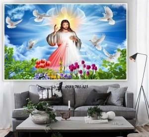 2020-10-30 16:47:10  4  Tranh gach 3D công giáo 1,200,000