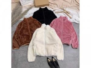 Áo khoác lông nữ 2 mặt siêu ấm có 4 màu