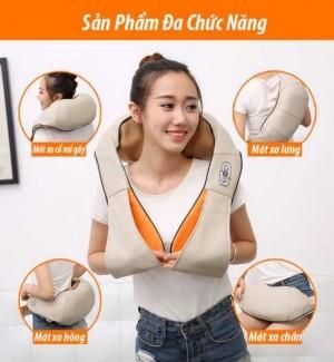Mua máy massage vai cổ gáy chính hãng ở đâu tốt nhất? Máy mát xa vai gáy Hàn Quốc Ayosun bảo hành 5 năm