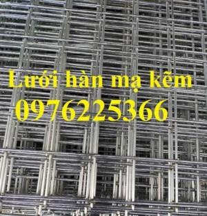 Lưới kẽm, lưới hàn mạ kẽm, lưới hàn ô vuông mạ kẽm, lưới thép ô vuônng