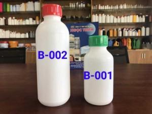 Bình Nhựa 0.5 lít/1 lít HDPE - Bao Bì Ngọc Triêm