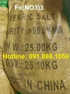 Bán Fe(NO3)3- Ferric Nitrate dùng trong xi mạ, kim hoàn, chạm khắc bạc