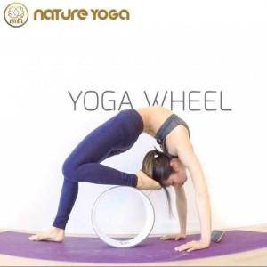 Vòng Tập Yoga Khung Nhựa Abs Bọc Tpe Đường Kính 33cm Bản Rộng 20cm
