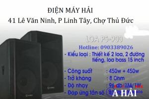 Loa Arirang Ps-900 Công Suất Đến 900w Dành Cho Sân Khấu
