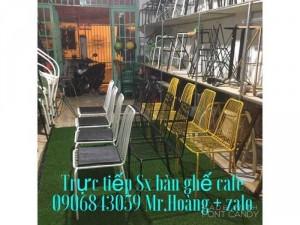 Ghế sắt đũa cafe giá rẻ tại xưởng - nội thất Nguyễn hoàng