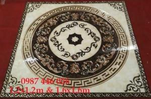 Gạch Thảm Chiếu Nghỉ Vuông Trang Trí Sảnh Phòng Khách Hp692
