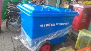 Thùng Rác Nhựa Hdpe 660l (hdpe660) - Nhựa Phước Đạt