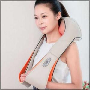 Máy Massage Ayosun Hàn Quốc: Máy Mát Xa Cầm Tay 11 Đầu,đai Mát Xa Giảm Đau Vai Cổ Gáy Hồng Ngoại