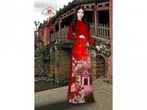 Vải áo dài lụa ngọc mai cao cấp TL 125-10
