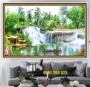 Gạch Tranh Phong Cảnh Trang Trí Phòng
