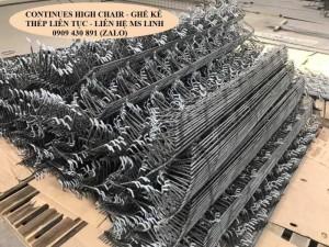 Ghế kê thép kiểu liên tục - kê lưới thép hàn