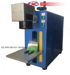 Máy Laser Fiber Mini khắc kim loại