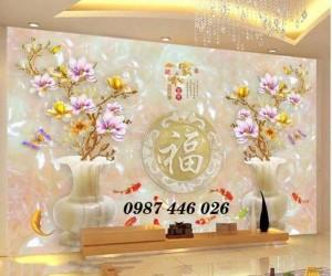Tranh gạch men, tranh ốp tường trang trí siêu bền đẹp HP7211