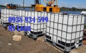 Bồn nhựa 1000 lít hàng đã qua sử dụng , tank nhựa ibc 1000l hàng đã qua sử dụng