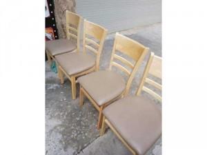 Ghế gỗ nệm Cabin hàng tận xưởng sản xuất,giá bao tốt
