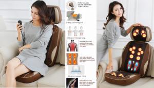 Máy massage hồng ngoại Hàn Quốc giảm đau toàn thân,ghế massage cao cấp Ayosun Hàn Quốc bảo hành 5 năm
