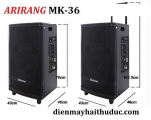 Loa kéo Arirang MK-36 giá bán rẻ nhất tại Điện Máy Hải Thủ Đức