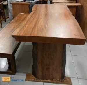 Mặt bàn gỗ Gụ nam phi dài 1,4m