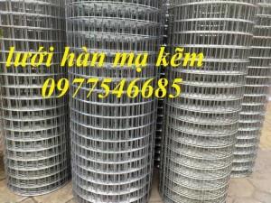 Cung Cấp Lưới Hàn Mạ Kẽm Ô Lưới 25x25, 35x35, 50x50 Tại Hà Nội