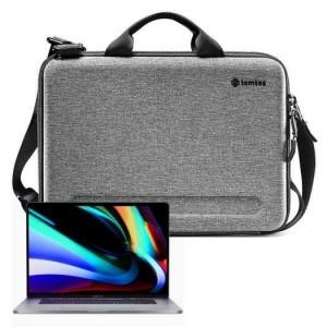 Túi Đeo Chéo Chống Va Đập Tomtoc (USA) Eva For Macbook Pro 15″/Macbook 16″ Gray (A25-E01G) - MSN181647