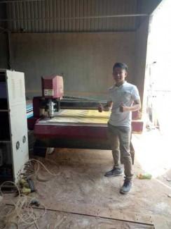 Thu mua máy đục gỗ, máy tiện gỗ vi tính cũ, máy hư hỏng
