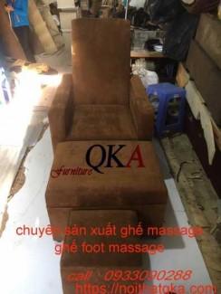 Mẫu ghế massage chân cố định