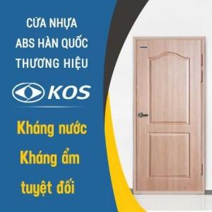Cửa nhựa ABS Hàn Quốc - Thương hiệu KOS