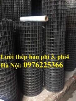 Lưới thép hàn D4a200x200, D4a150x150, D4a100x100 giá rẻ, sẵn hàng tại Hà Nội