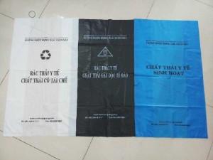 Túi đựng rác thải y tế,túi đựng rác thải sinh hoạt