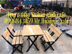 Trực tiếp sản xuất bàn ghế quán ăn - Nội Thất Nguyễn hoàng