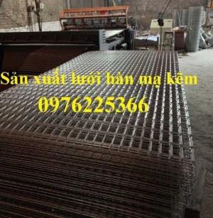 Lưới thép hàn vuông 35x35mm, 50x50mm D2, D3, D4 có sẵn hàng