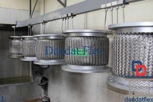Báo giá gia công Flexible hose – Khớp nối mềm inox - Ống chống rung – Khớp nối chống rung