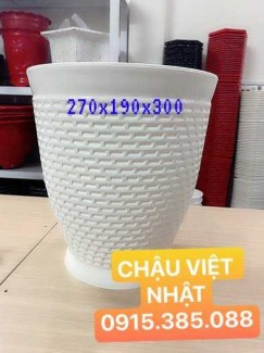 Chậu Hoa Nhựa Việt Nhật Sỉ lẻ Giá rẻ - Tuyển đại lý toàn quốc