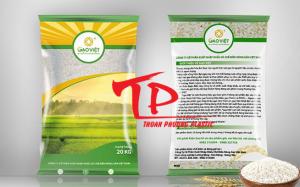 Bao đựng gạo 5kg - 10kg (PA/PE) in ống đồng giá rẻ