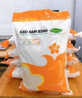 Bao đựng gạo 5kg - 10kg  có quai xách
