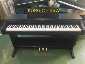 Piano điện korg C-35W