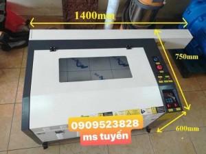 Máy laser 6040-1 đầu -50w/60w chuyên cắt khắc đồ lưu niệm , trái cây , gỗ , mica ,....