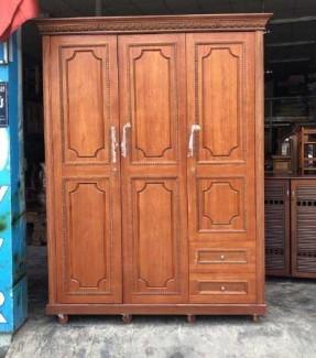 Tủ quần áo gỗ giá rẻ gỗ còng