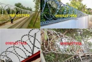 Thi công lắp đặt hàng rào chống trôm, Lắp đặt hàng rào biệt thự