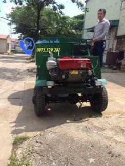 Xe trộn bê tông tự chế 9 bao (1,5 khối) xe trộn bê tông tự hành 9 bao bán tại Hồ Chí Minh
