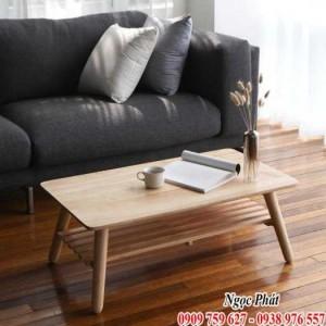 Bàn sofa 2 tầng cao cấp - Bàn trà sofa Ngọc Phát